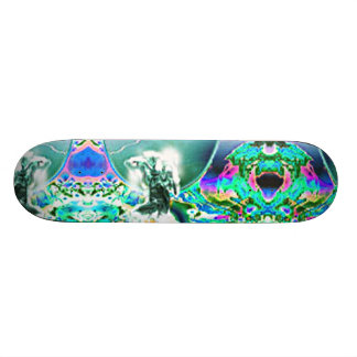 ANGEL HEAVEN ORIGINAL ARA ART PRINT SKATEBOARD