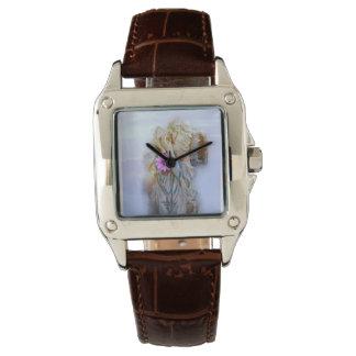 Ángel hermoso reloj