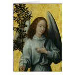 Angel Holding an Olive Branch Greeting Cards
