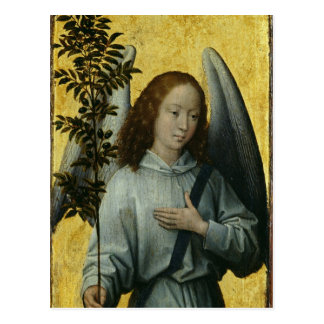 Angel Holding an Olive Branch Postcard