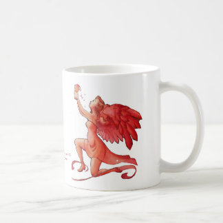 Angel Holding Cup Simplified