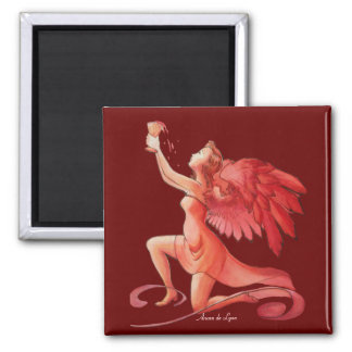 Angel Holding Cup Simplified Magnet