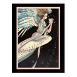 Angel Holding Star Postcards
