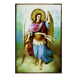 Angel Holy Archangel Saint Michael Poster