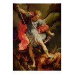 Angel Holy Archangel St. Michael Poster