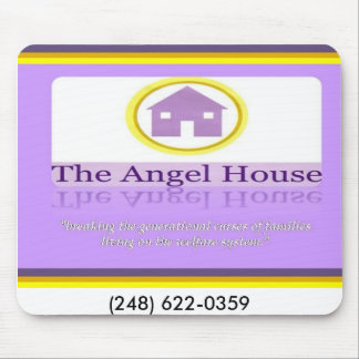 Angel House facing, (248) 622-0359 Mouse Pad