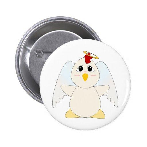 Ángel Huggable del pollo Pin