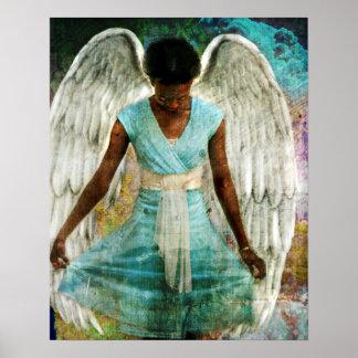 Ángel humilde póster