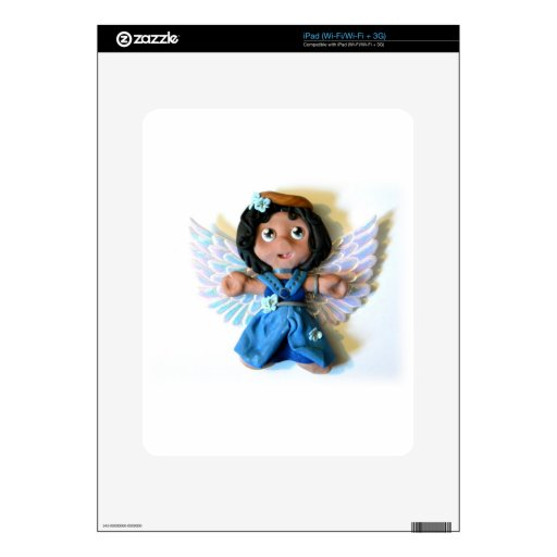 Ángel I de Krystal Calcomanía Para iPad