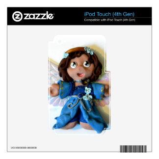 Ángel I de Sarah iPod Touch 4G Calcomanía