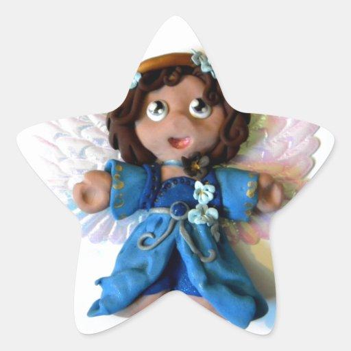 Ángel I de Sarah Pegatina En Forma De Estrella