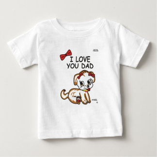 Angel I Love You Dad Baby T-Shirt
