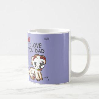 Angel I Love You Dad Mug