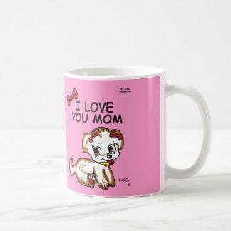 Angel I Love You Mom Mug