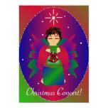 Ángel III del navidad Invitación 12,7 X 17,8 Cm