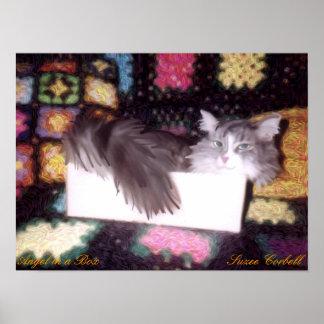 Angel in a Box print
