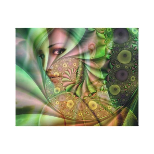 Angel in a dream gallery wrapped canvas