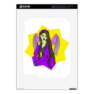 Angel in a star iPad 3 decal