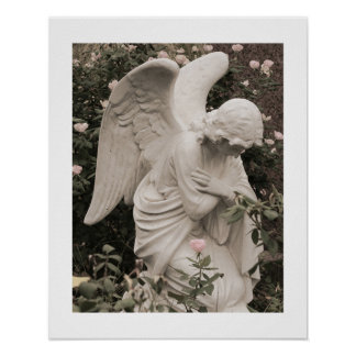 Angel in Blessing 16x20 Poster with Edge