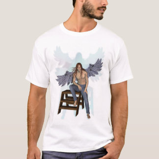 Angel in Blue Jeans T-Shirt
