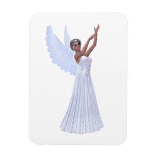 Angel in Blue Vinyl Magnet