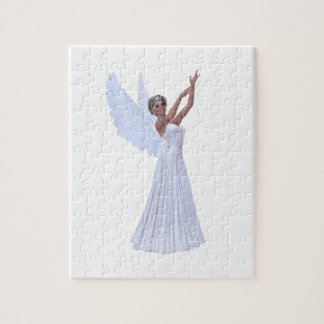 Angel in Blue Puzzle