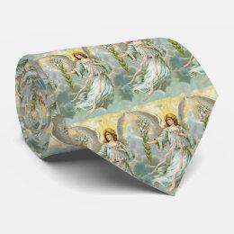 Angel In Blue Tie