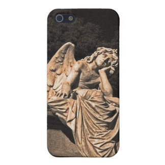 Angel in contemplation cover for iPhone SE/5/5s
