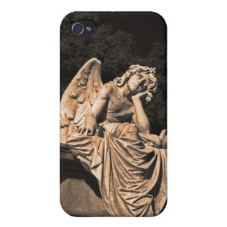 Angel in contemplation iPhone 4/4S covers
