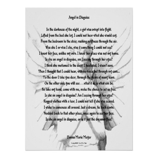 Angel In Disguise Print