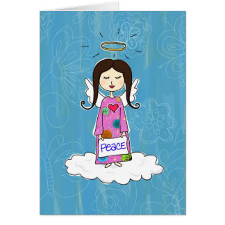 Angel in Doodle Heaven Cards