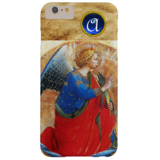 ANGEL IN GOLD RED AND BLUE GEMSTONE MONOGRAM BARELY THERE iPhone 6 PLUS CASE