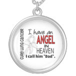 Angel In Heaven Dad Lung Cancer Pendant