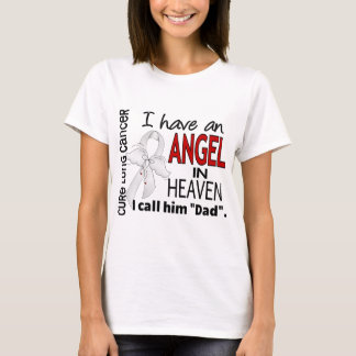 Angel In Heaven Dad Lung Cancer T-Shirt