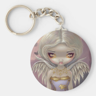 """Angel in Lilac"" Keychain"