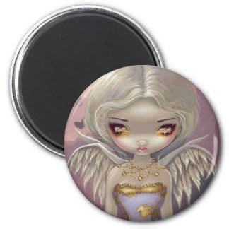 """""""Angel in Lilac"""" Magnet"""