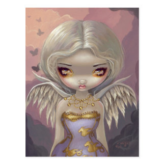 """Angel in Lilac"" Postcard"