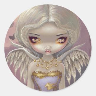 """Angel in Lilac"" Sticker"