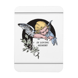 Angel in Loving Memory, Classic In Remembrance Magnet
