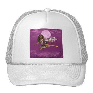 Angel in Moonlight Baseball Hat