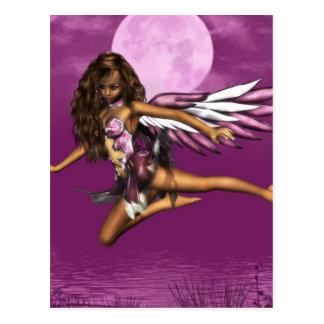 Angel in Moonlight Postcard