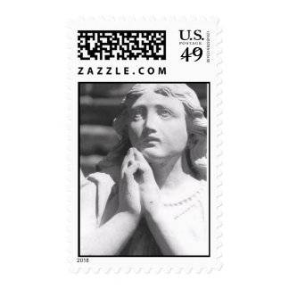 Angel in Prayer Postage Stamps