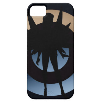 """Angel in Silhouette 'I am Here"""" iPhone(5) Case"""