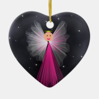 Angel In Space Christmas Tree Ornament