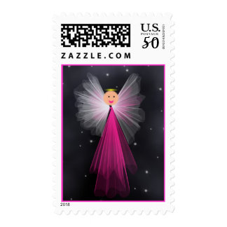 Angel in Space Postage