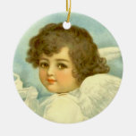 Angel in the Clouds - Ornament