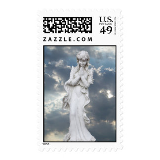 Angel in the Clouds Postage Stamps