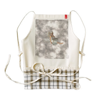 Angel in the Clouds Zazzle HEART Apron