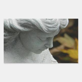 Angel in the Garden Sticker