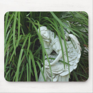 Angel in the Grass Mouse Pad